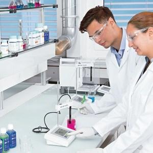 实验室仪器PH值校准以及三点修正